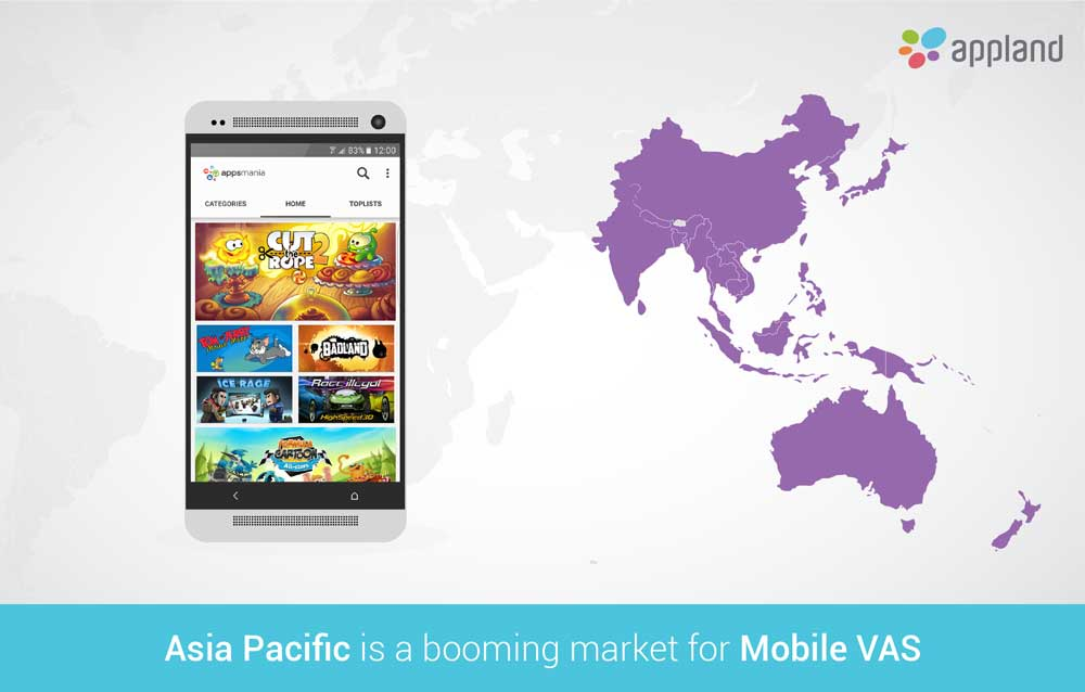 Mobile VAS in Asia Pacific